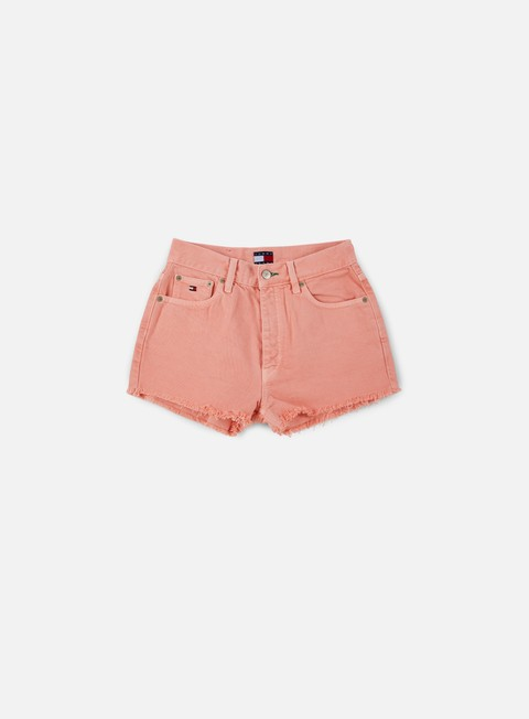 pantaloni tommy hilfiger wmns tj 90s high waist short quartz pink