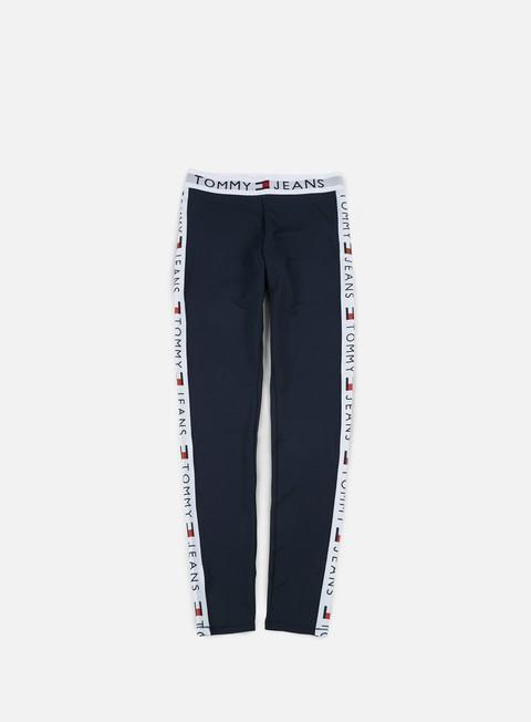 pantaloni tommy hilfiger wmns tj 90s leggings dark navy