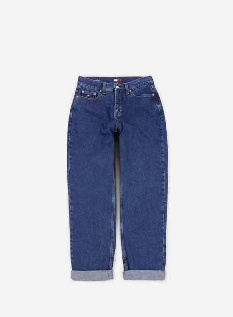 pantaloni tommy hilfiger wmns tj 90s mom jean denim blue