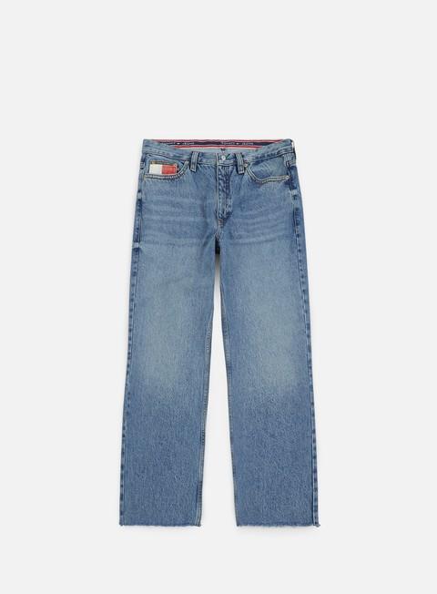 pantaloni tommy hilfiger wmns tj 90s mom jean mid blue denim