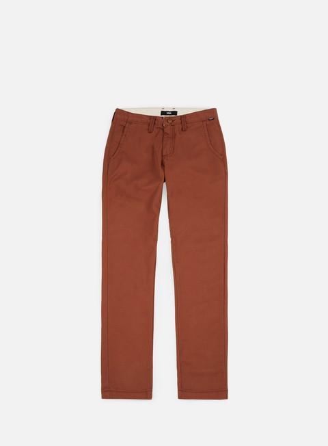 pantaloni vans authentic chino pant sequoia