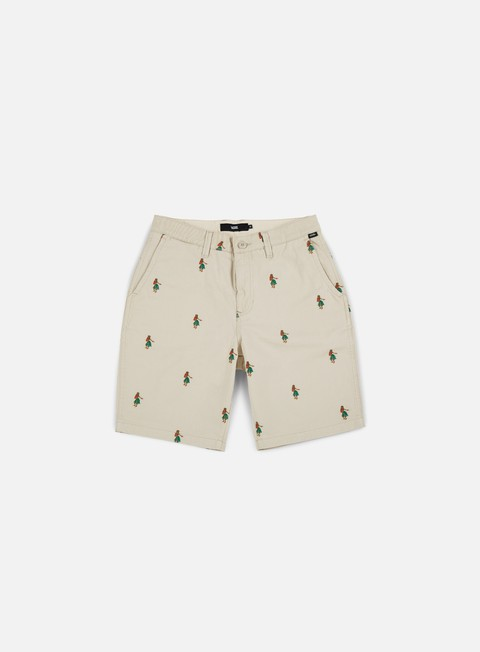 pantaloni vans authentic monogram shorts sand hula daze