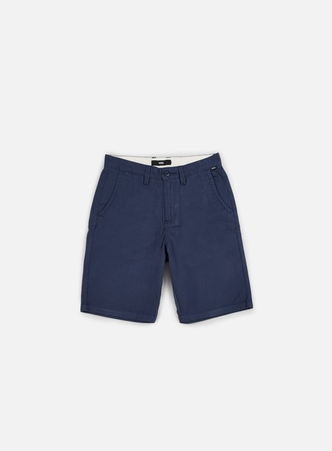 pantaloni vans authentic short dress blues