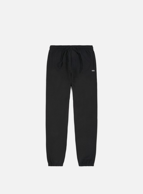 pantaloni vans basic fleece pant black