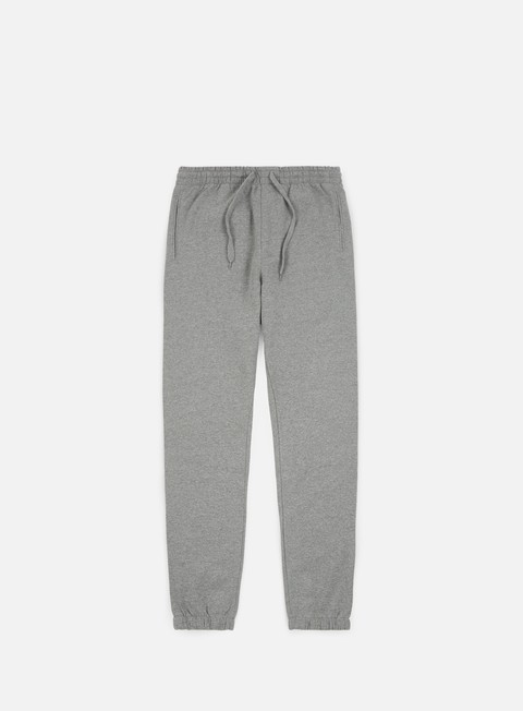 pantaloni vans basic fleece pant cement heather
