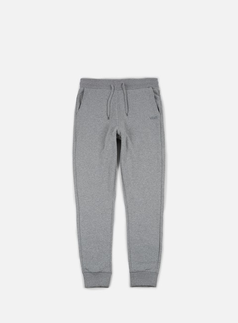 pantaloni vans core basic fleece pant cement heather