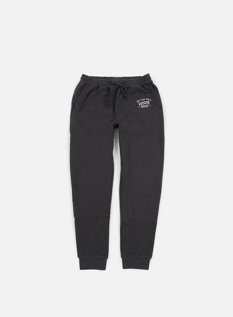 pantaloni vans dumont sweatpant black heather