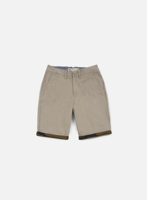 pantaloni vans excerpt cuff short vintage khaki