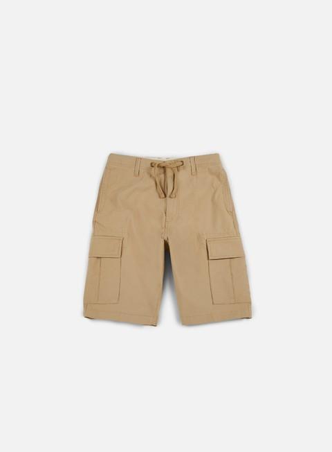 pantaloni vans flower shorts khaki