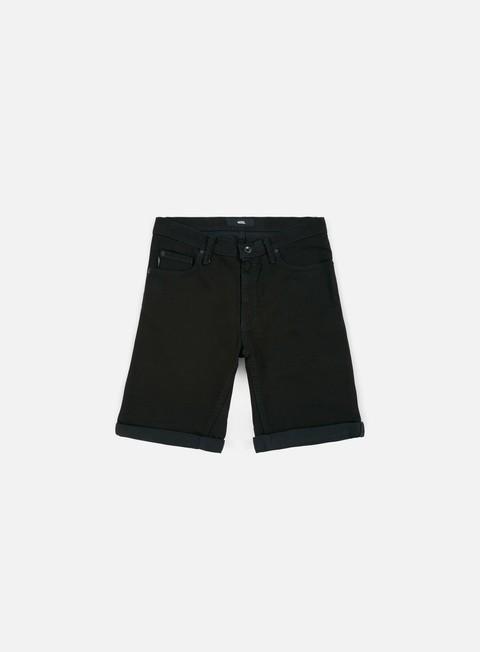 pantaloni vans hannon shorts overdye black