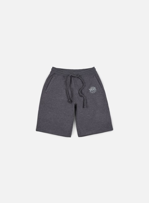 pantaloni vans holder fleece short black heather