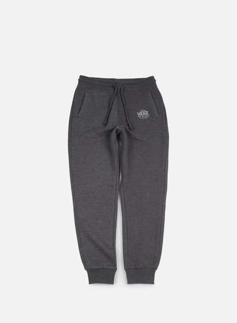 pantaloni vans holder sweatpant black heather