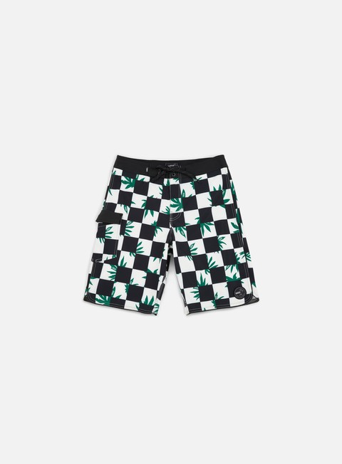 pantaloni vans mixed scallop boa boardshort peace checher