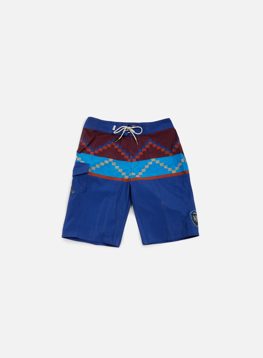 Vans - NF Rising Swell Boardshort, Blueprint