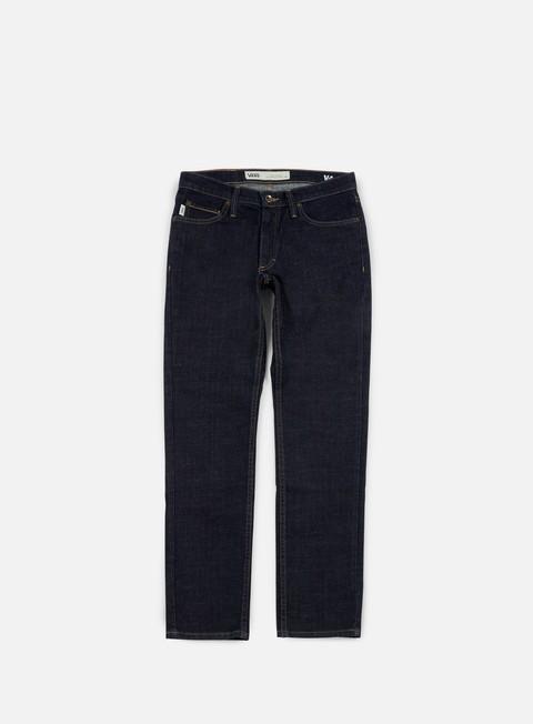 pantaloni vans v46 taper pants indigo