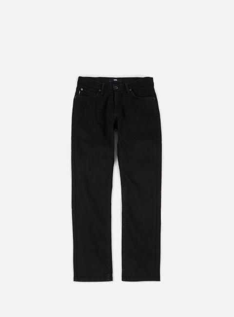pantaloni vans v46 taper pants overdye black