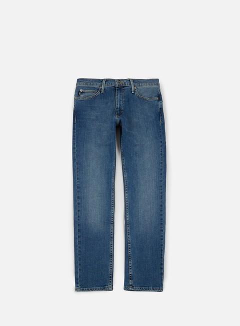 pantaloni vans v46 taper pants vintage blue