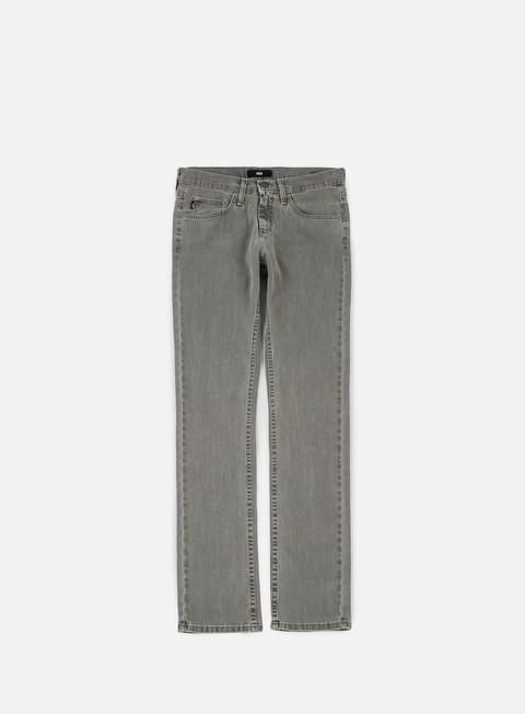 pantaloni vans v76 skinny pants worn grey