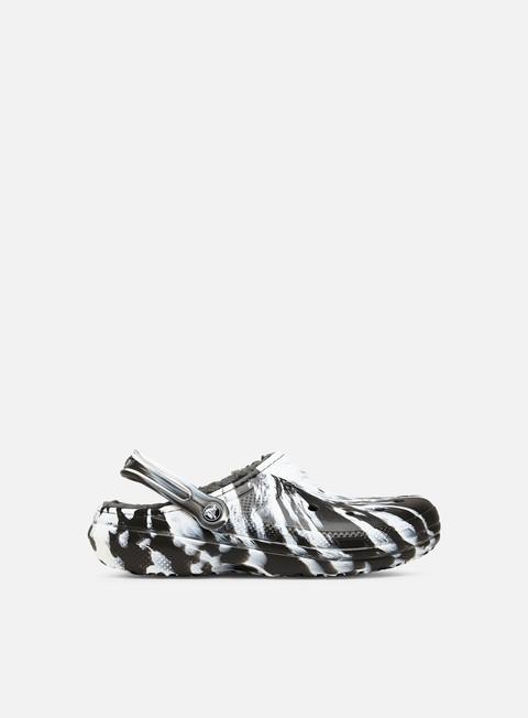 Crocs Classic Lined Marbled Clog