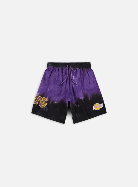 Sweat shorts Mitchell & Ness LA Lakers Tie-Dye Terry Shorts