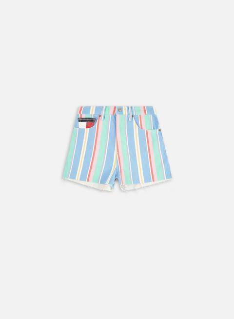 Shorts di jeans Tommy Hilfiger WMNS TJ Stripe Shorts