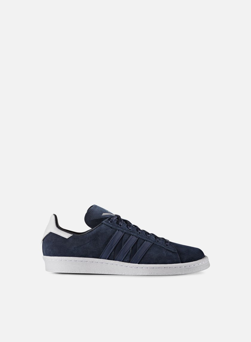 Adidas by White Mountaineering - Campus 80s, Collegiate Navy/Mistery Blue/White