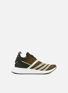 Adidas by White Mountaineering - WM NMD R2 Primeknit, Trace Olive/White 1
