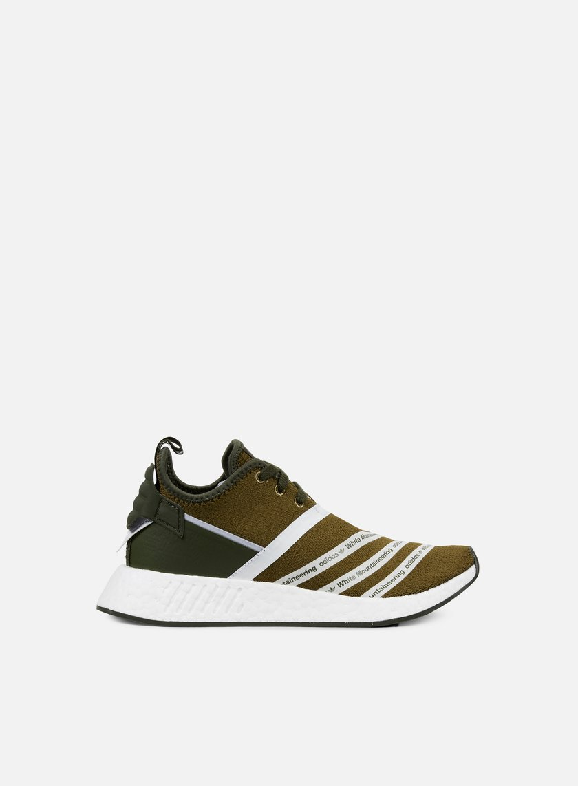 Adidas by White Mountaineering - WM NMD R2 Primeknit, Trace Olive/White