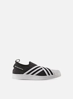 Adidas by White Mountaineering - WM Superstar Slip On Primeknit, Black/White 1