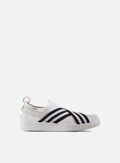 Adidas by White Mountaineering - WM Superstar Slip On Primeknit, White/Black 1