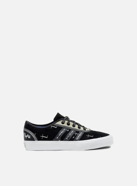 sneakers adidas originals adi ease core black dark solid grey running white