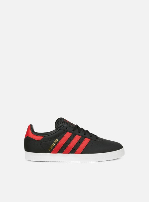 sneakers adidas originals adidas 350 core black scarlet off white