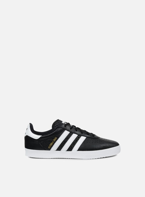 sneakers adidas originals adidas 350 core black white gold metallic