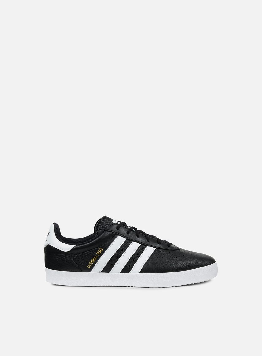 Adidas Originals - Adidas 350, Core Black/White/Gold Metallic