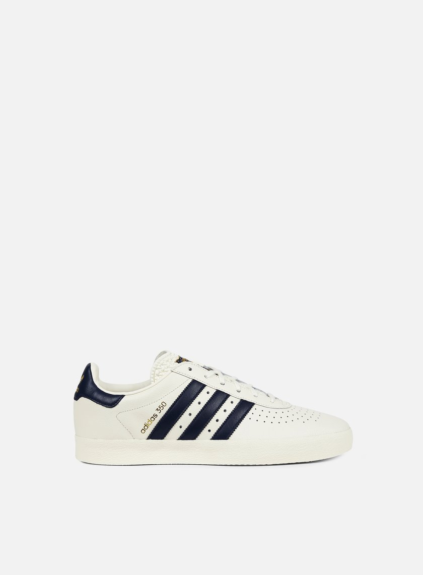 Adidas Originals - Adidas 350, Off White/Collegiate Navy/Gold Metal