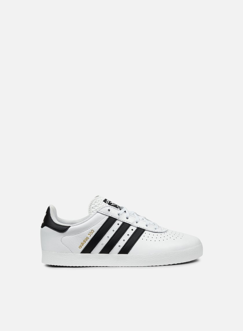 Adidas Originals - Adidas 350, White/Core Black/Gold Metallic