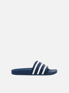 Adidas Originals - Adilette, Adiblue/White/Adiblue 1