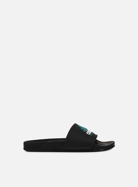 sneakers adidas originals adilette equipment core black core black green