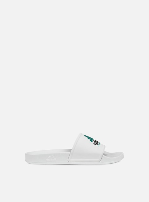 sneakers adidas originals adilette equipment white white core black