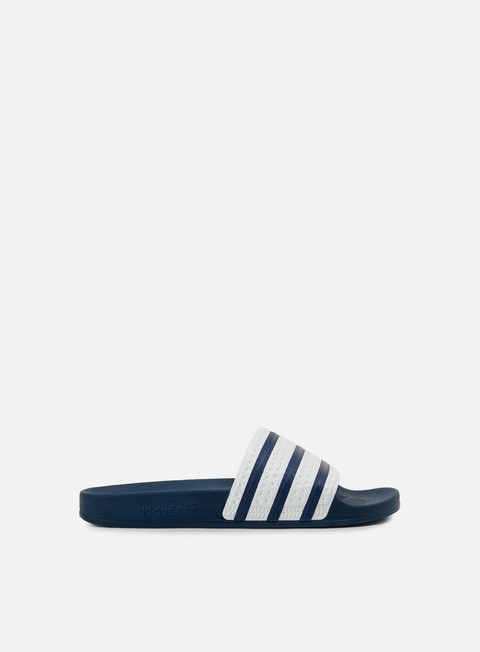 sneakers adidas originals adilette slides adidas blue white blue