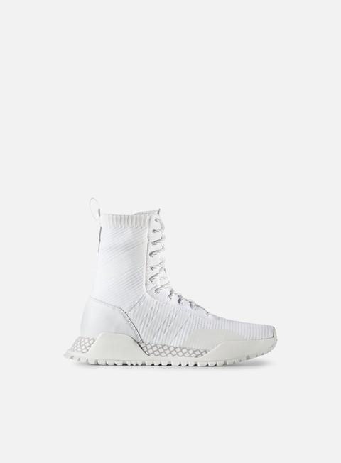 sneakers adidas originals af 13 primeknit boot white white vintage white