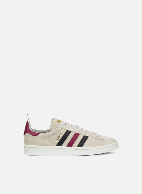 sneakers adidas originals campus clear brown core black mystery ruby