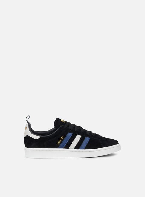 sneakers adidas originals campus core black clear brown noble indigo
