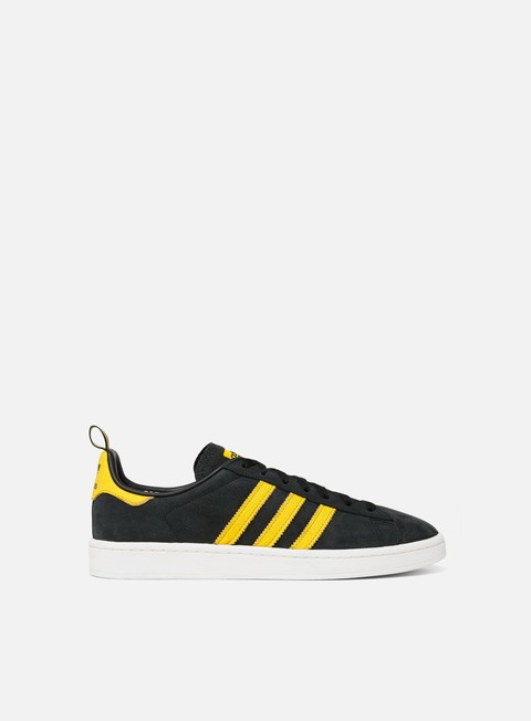 sneakers adidas originals campus core black eqt yellow clear white