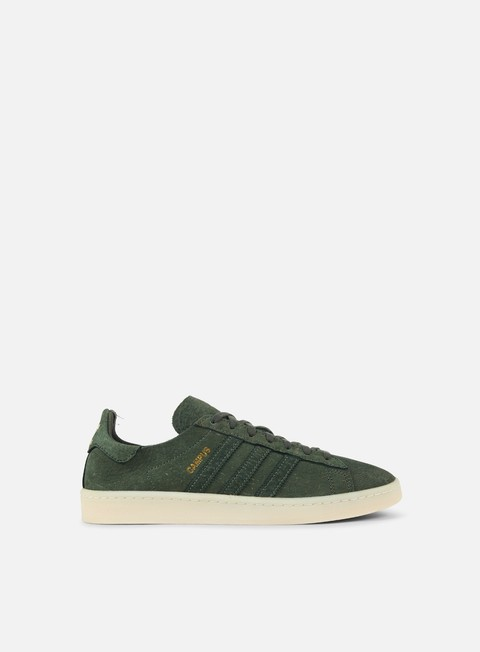 sneakers adidas originals campus crafted green white metallic gold