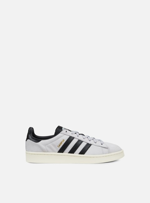 sneakers adidas originals campus grey two core black chalk white