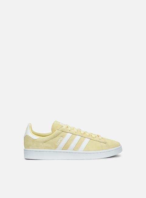 sneakers adidas originals campus mist sun white white