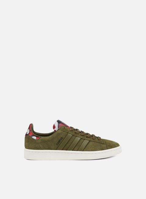 sneakers adidas originals campus olive cargo olive cargo core blue