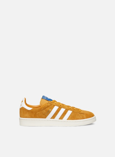 sneakers adidas originals campus tactile yellow f17 cloud white