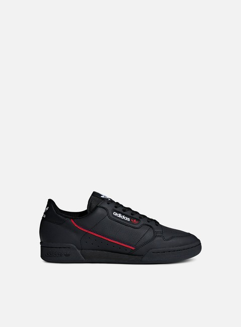 sneakers adidas originals continental 80 core black scarlet collegiate navy
